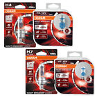 OSRAM Night Breaker Laser +130% H4 H7 Car Headlight Bulbs Single and Duo