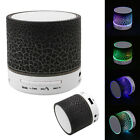 MINI Portable Wireless Bluetooth Speaker TF USB Music Volcano Lava color change