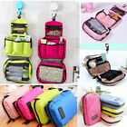 Women Travel Camping Toiletry Hanging Wash Portable Makeup Cosmetic Storage Bag