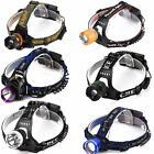 Big sale| LED 5000LM T6 Headlamp XM-L Rechargeable Headlight Super bright Torch