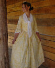 Modest Quality Historical Costume Colonial ~Yellow Felicity~ Child Size 4 to 14