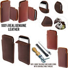 For LG G3 Stylus D690 Slim Sleeve Genuine Real Leather POUCH Case Cover + Pen