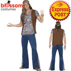 CA312 Men Orion The Hippie Costume 1960s 60s 70s 1970s Groovy Hippy Disco Outfit