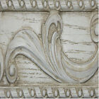 Shell Motif and Acanthus Leaves Bed Crown Made in USA in 40 Colors