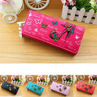 Yooocart Women Butterfly PU Leather Cards Holder Clutch Wallets Coin Purse Bag