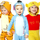 Winnie The Pooh Romper Infants Fancy Dress Disney Toddler Babies Costume Outfits