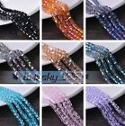 10~50pcs 8mm Cube Square Faceted Crystal Glass DIY Findings Loose Spacer Beads