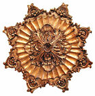 Acanthus Leaf with Concave Accent Ceiling Medallion Made in USA in 40 Colors