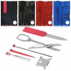 Multi-Function Knife/Scissor Kit Stainless Steel Classic Credit Card Useful Tool