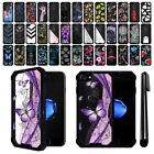 "For Apple iPhone 8 iPhone 7 4.7"" Hybrid Clear TPU Bumper Case Phone Cover + Pen"