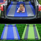 Car Inflatable Travel Mattress Back Seat Bed Sleep Rest Camping Cushion Air Bed
