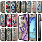 For Samsung Galaxy On5 G550 G500 Hybrid Clear TPU bumper Case Phone Cover + Pen