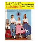 Sew & Make McCall's 7253 Vintage SEWING PATTERN - Girls SOCK HOP POODLE SKIRTS
