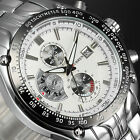 MEN Watches New Stainless Steel Men Sport Quartz Date Hours Wrist Watch