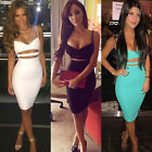 Women Summer Short Slim Mini Dress Cocktail Party Evening Bodycon Sleeveless 09h