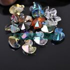 10pcs 14X12mm Duck Faceted Crystal Glass Loose Spacer Beads DIY Findings
