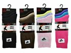 3 Ladies Plain LYCRA® Cotton Rich EVERYDAY Socks UK 4-6