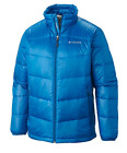 Columbia Men's BIG Gold 650 TurboDown Down Winter Jacket Hyper Blue NWT Puffer