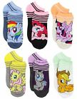 My Little Pony Womens Queen 6 pack Socks (Teen/Adult) 9446MH