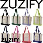 ZUZIFY 12 oz Cotton Canvas Boat Tote Bag. BY0758