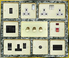 POLISHED BRASS STANDARD OR LED DIMMER LIGHT SWITCHES SOCKETS  ETC