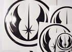 Two Star Wars Jedi Order Decal 3 sizes and Various colours available £1.49 GBP on eBay
