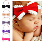 1Pc Bowknot Hair Band Toddler Headwear Headband Set Kids Girls Baby