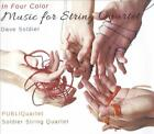 IN FOUR COLOR: MUSIC FOR STRING QUARTET BY DAVID SOLDIER NEW CD
