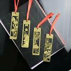 4 Patterns Chinese Style Metal Bookmarks Golden Hollow Mini Creative New LA