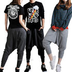 Vogue Men Women Casual Baggy Hip-hop Harem Pants Trousers Dance Sport Sweatpants