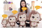Kids Hot Cute Plush Soft Kawaii Wink Monkey Animals Doll Toy Gift 30-60cm 3color