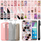 For Samsung Galaxy J7 2017/ J7V Slim Sparkling Light Pink TPU Case Cover + Pen