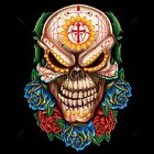 Evil Day of the Dead Skull Size 2 X Large-11/12 X Large Mens Tank Top