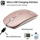 Rechargeable 2.4GHz Wireless Optical Sensor Mouse Mice USB Receiver fr Laptop PC