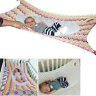 Baby Folding Oxford Cloth Cot Bed Travel Playpen Hammock Holder Crib Portable