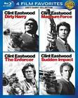 DIRTY HARRY COLLECTION: 4 FILM FAVORITES USED - VERY GOOD BLU-RAY