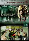 HORROR CLASSICS IN 3D: DEMENTIA 13/LITTLE SHOP OF HORRORS NEW DVD