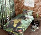 T Rex Quilt Duvet Cover Bed Sets or Curtains Jurassic Dinosaur Bedding Pre Order
