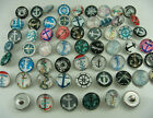 Mix diy charm Chunks series for Snap Button Chunks charm Wholesale 18mm p9