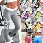Damen Sporthose Leggings Hosen Training Laufhose Fitnesshose Yoga Gym Jogging DE