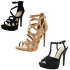 Jessica Simpson Rainah Bellanne Bassie Women's Strappy Dress Stiletto Sandals