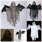 Ghost Sound Control Creepy Animated Skeleton Halloween Party Decoration