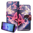 Premium Leather Universal Wallet Flip Stand Case Cover For Various Smart Phones