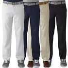 Ashworth Golf Men's Stretch Flat Front Solid Pant,  Brand New