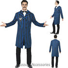 CL927 Gomez Duke of the Manor Halloween Dark Addams Family Horror Mens Costume