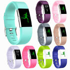 1pc Fitbit charge2 Replacement Silicone Rubber Band Strap Wristband