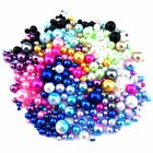 Mix Color & Size Plastic Pearl Beads - Nail Art Caviar Mirco Beads Cage Floating