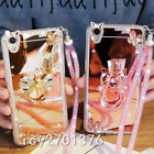 Luxury Bling Diamond Crystal Ring Holder stand Mirror Phone Case Cover & strap 3