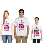 Ish Family Clothes Set Love Mother White Top T-Shirt Youth Men Women Tee