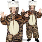 CK775 Tiger Jumpsuit Book Week World Boy Girls Child Fancy Animal Costume